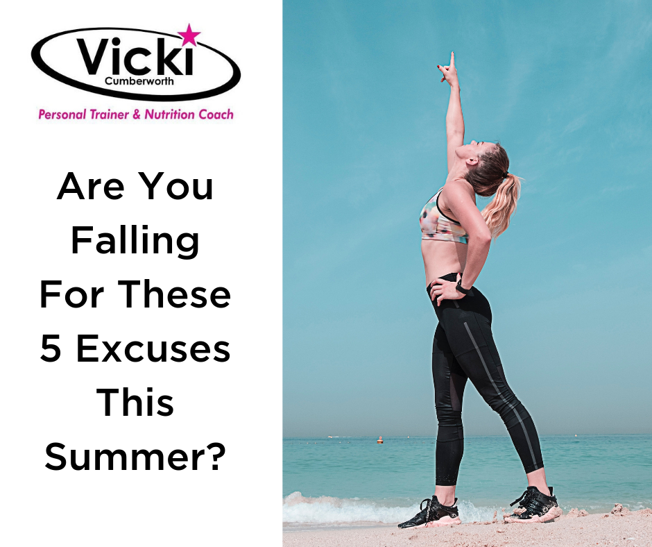 Are You Falling For These 5 Excuses This Summer?