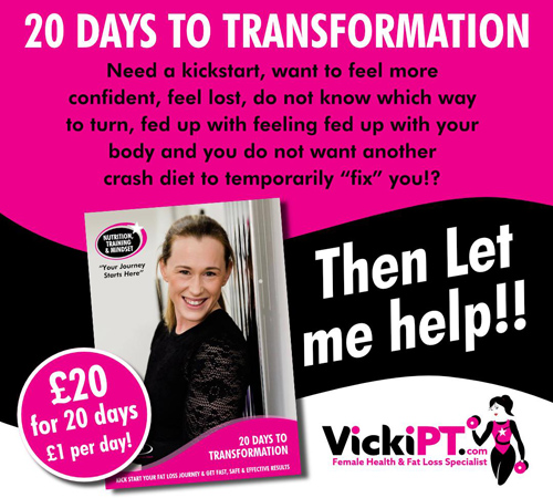 20 days transformation